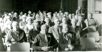 1960-luvulla seurapaikkana oli usein Lappeen seurakuntasali.