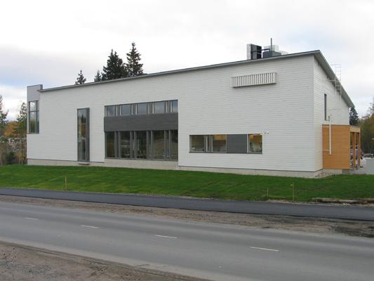 Lappeenrannan rauhanyhdistyksen uusi toimitalo valmistui syyskuussa 2006